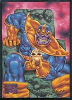 1995 Marvel Masterpieces Trading Card #99 Thanos