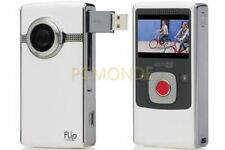Flip UltraHD Video Camera - White, 8 GB, 2 Hours - 3rd Generation (U32120W) (pp)