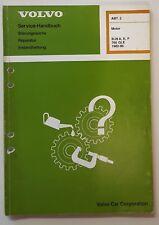 Werkstatthandbuch Motor / Shop manual Engine Volvo B28 A, E, E, F  für 760 GLE