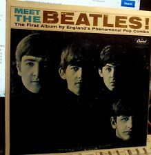 VG+/VG+ MEET THE BEATLES! MONO LP CLEAN CAPITOL 1964   WOODY 1 BMI EARLY JAN