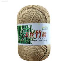FFDA 50 G Baumwolle Tencel Bambus Schals Strickschals Handschuhe Garn Weich
