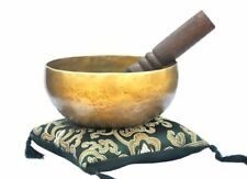 "6"" Superb B Crown Chakra OldTibetan Singing Bowl Meditation bowls,Handmade Nepal"