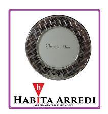 Cornice Tonda Portafoto Christian Dior Argento 925 Idea Regalo