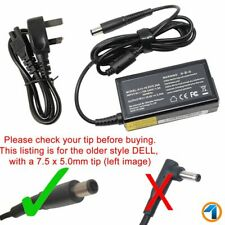 DE LL Inspiron 15 3000 5000 7000 Series 65w Laptop Power Supply Charger UK Cord