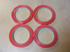 4 ROLLS OF RED BAG SEALER TAPE FOR NECK SEALER MACHINES (9mm x 66m) - NEW