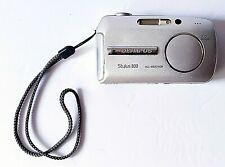 Olympus Stylus 800 Digital Camera 8.0 MP Hyper Crystal Silver 3 X Optical Zoom