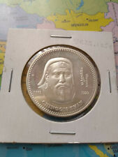 MONGOLIA 2002 1000 TOGROG  CHINGGIS KHAAN SILVER 999 PROOF