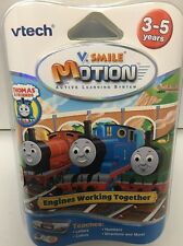 V-SMILE V-MOTION THOMAS ENGINES WORKING TOGETHER (New In Package)