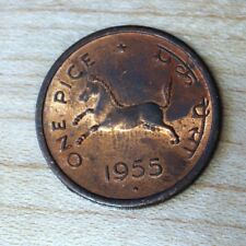 1955 India 1 Pice Horse