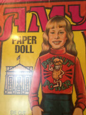 AMY Paper Doll Amy Carter SEALED Vintage