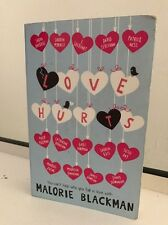 Love Hurts by Malorie Blackman (Paperback, 2015)