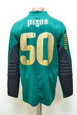 PAOK GREECE 2008/2009 GOALKEEPER FOOTBALL SHIRT JERSEY PUMA RIZOS #50 SIZE M