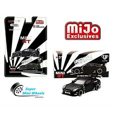 Mini GT 1:64 Nissan GT-R R35 LBW Liberty Walk black MiJo Exclusives MGT00031-MJ