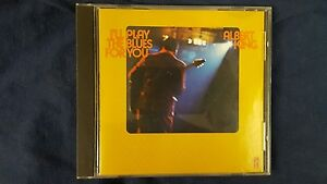 ALBERT KING - I'LL PLAY THE BLUES FOR YOU. CD