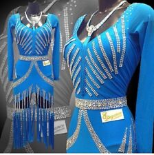 LATIN DRESS. Beautiful Rest/Elegance London dress for sale.Swarovski crystals.