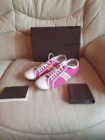 LOUIS VUITTON Ladies Pink Trainers Shoes  39   UK  6   US 8  GENUINE