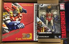 Starscream Lot Transformers Combiner Wars Leader Class And 30th Platinum NEW