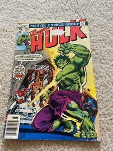 Incredible Hulk  220  VG-  3.5  Captain Barracuda  Doc Samson  General Ross