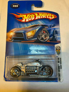 2004 Hot Wheels Dodge Tomahawk 1st Ed Motorcycle 80/100 C2712 NEW