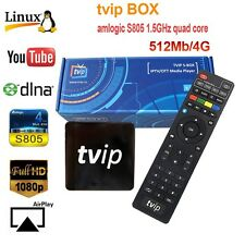 TVIP S-BOX S.410 Linux/Android 4.4 Quad Core S805 IPTV/OTT Media Player - EU