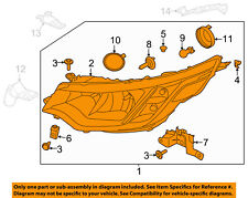 LAND ROVER OEM 17-18 Discovery-Headlight Assembly LR085638