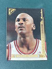 Vtg 1995-96 Topps Gallery Masters #10 MICHAEL JORDAN Bulls UNC G NBA HOF NrMt/Mt