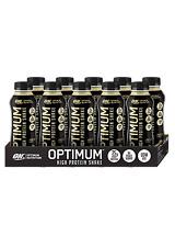10 x Optimum Nutrition High Protein Shake Vanilla 25g Plus 5 x High Protein Bars