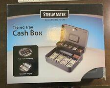 Steelmaster Tiered Tray Cash Box 2216194g2