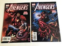The Avengers Red Zone Part 5 & 6 Comic Books - Marvel Direct Editions Stan Lee