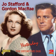 Jo Stafford & Gordon MacRae : Yesterday: The Definitive Duo CD (2012) ***NEW***
