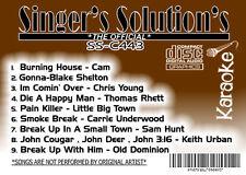 Singers Solution CO#443-Karaoke CDG Burning House-Smoke Break-Gonna-Pain Killer