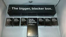 Cards Against Humanity: The Bigger Blacker Box Party Card Game Storage Case New