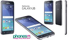 Nuovo di Zecca Samsung Galaxy J5 DUAL SIM Black Sbloccato smartphone sbloccare SCATOLA SIGILLATA