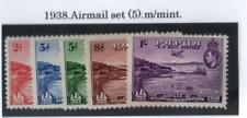 PAPUA.1938 SET AIRMAIL(5) MOUNTED MINT.SG.#158162