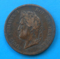 French Colonies Guadeloupe 5 centimes 1841 A Paris km 12