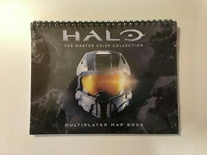 Halo: The Master Chief Collection Multiplayer Map Book - New Sealed - US Seller