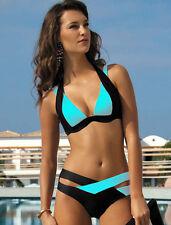 PUSH-UP Bikini Set Spiaggia Costume Da Bagno Costume Da Bagno Costumi da bagno Beachwear Taglia L/12 UK