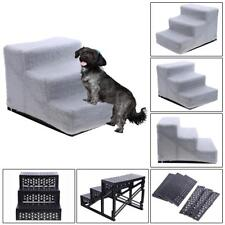 UN3F Dog Pet Stairs Steps Indoor Ramp Portable Folding Cat Ladder with Cover