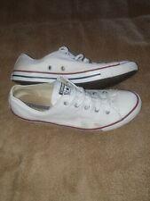 Womens white  converse size 6