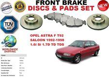 für Opel Astra F Limousine T92 1.6 1.7 91-98 Vorderbremse Scheibensatz +