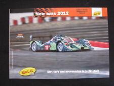 Brochure Slot.it New Cars 2012