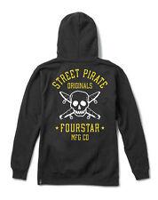Fourstar Mens Originals Hoody Pullover Black Sample - Large