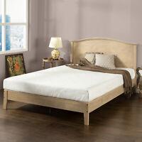 Zinus Scalloped Wood Platform Bed