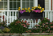 Mayne Fairfield Window Box - Black - 48""