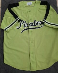 Pittsburgh Pirates GENUINE MERCHANDISE Starter Green XL jersey