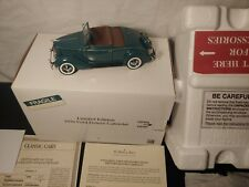 1936 Ford Cabriolet Danbury Mint Limited Edition TITLE BOXED BLUE