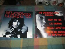 The Doors-(the very best of)-1 Poster-2 Sided-12X12-Mint-Rare
