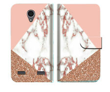 Marble Shape Stone Phone Wallet Case Cover For Telstra 4GX Enhanced - A031