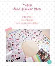 #23 Cute T-ara Girl PVC Stickers Deco 8 sheets
