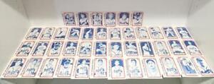 1980 TCMA Milwaukee Braves 1957 World Series Champions Complete 42 Card Set